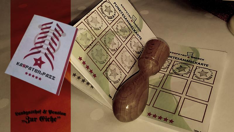 Karpatenpass, Elsteraue, Bonusheft, Punkte, Sammeln, Restaurant, Zeitz
