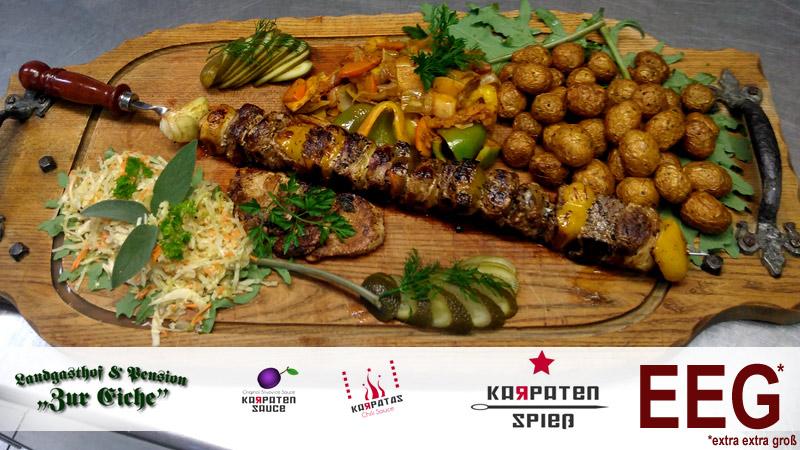 Karpatenspieß, Restaurant, Leipzig, Gera, Zeitz, Elsteraue