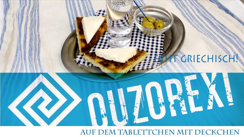 Ouzorexi, Gedeck, Ouzo, griechisch, Gasthof, Zur Eiche, Elsteraue, Sizilotti